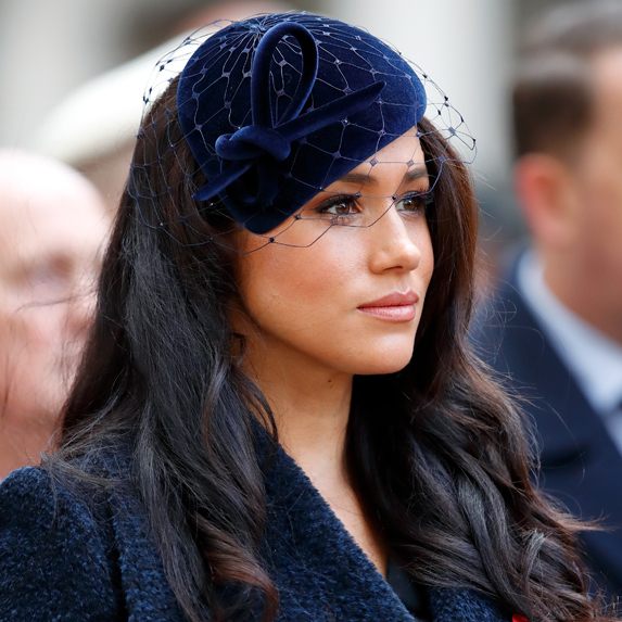 Meghan Markle takes part in Remembrance Day events on behalf of the Royal Family