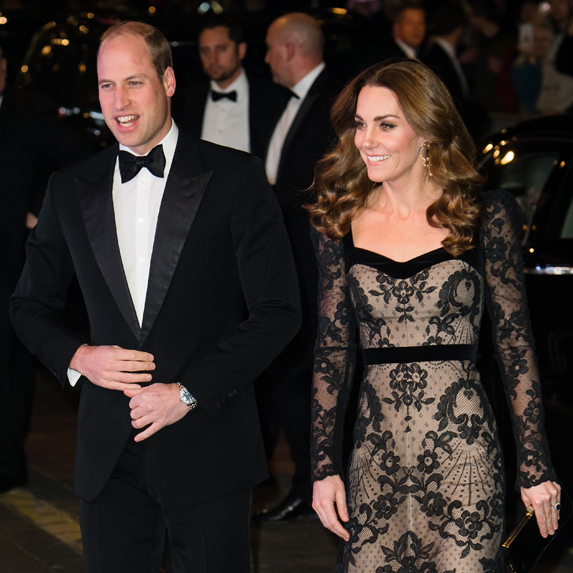 Prince William and Kate Middleton attend a royal event