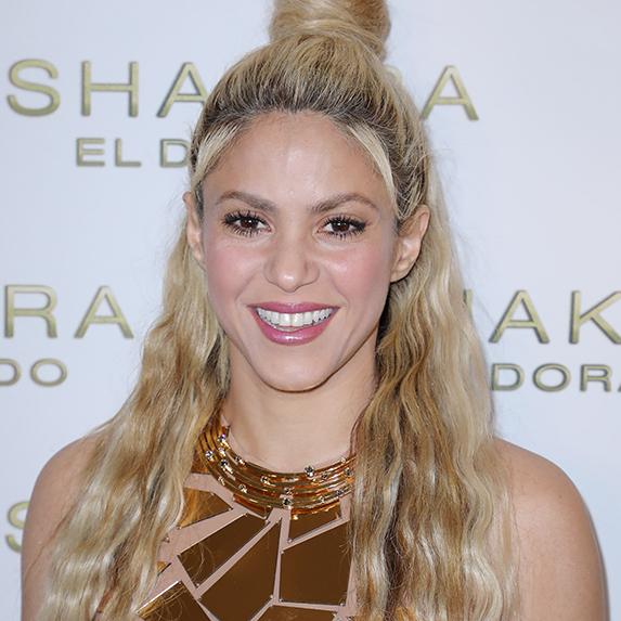 Shakira's sun safety