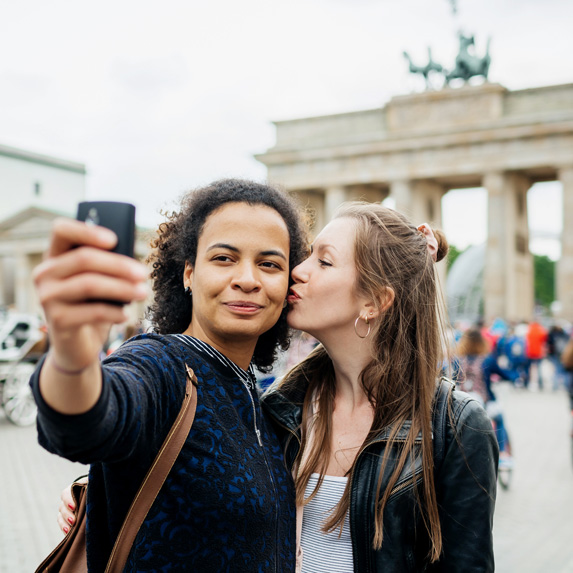 Travellers in Berlin