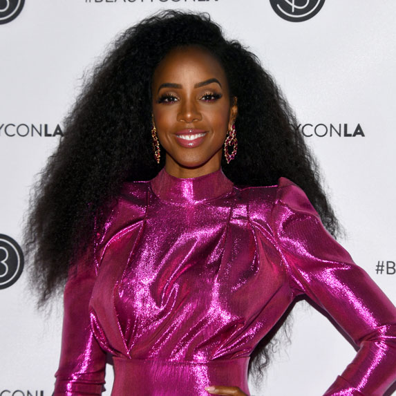 Kelly Rowland at Beautycon.