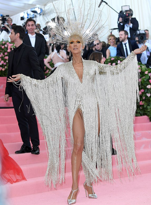 Celine Dion from the Meta Gala 2019