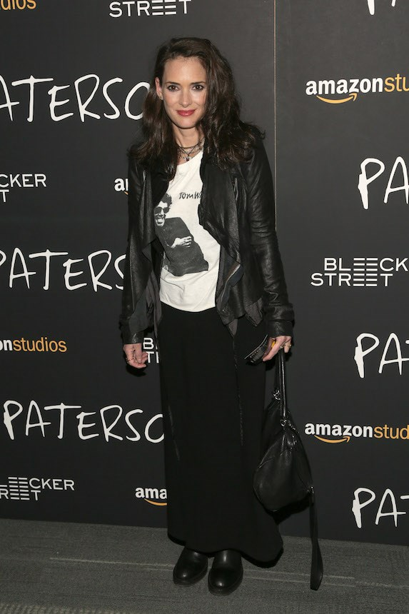 Winona Ryder owning grunge even now