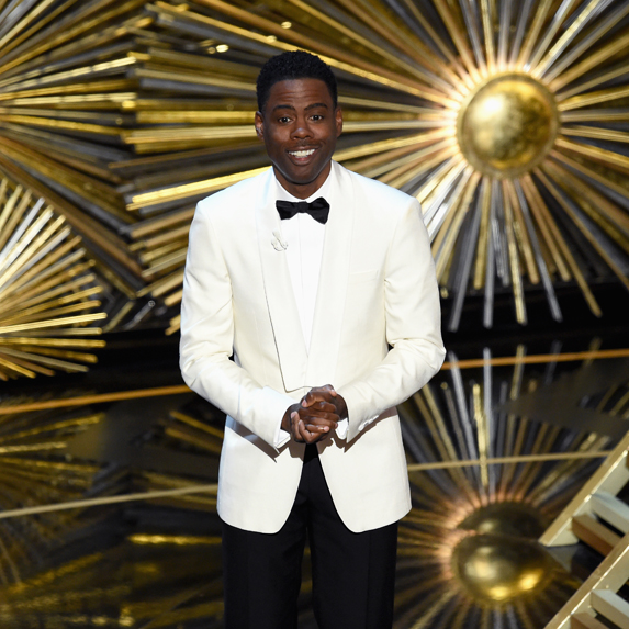 Chris Rock as host of the Oscars
