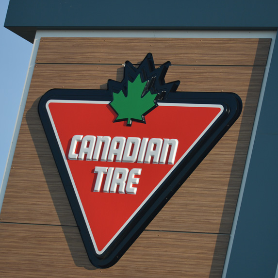 Canadian Tire sign