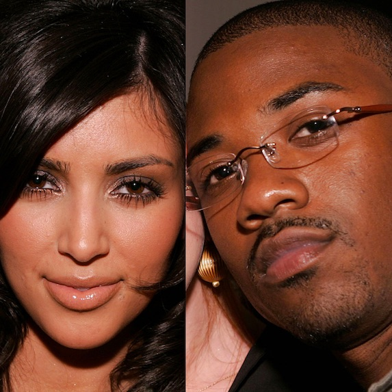 Kim Kardashian and Ray Jay