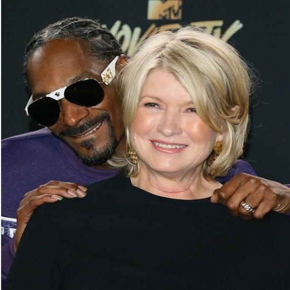 Martha Stewart and Snoop Dogg