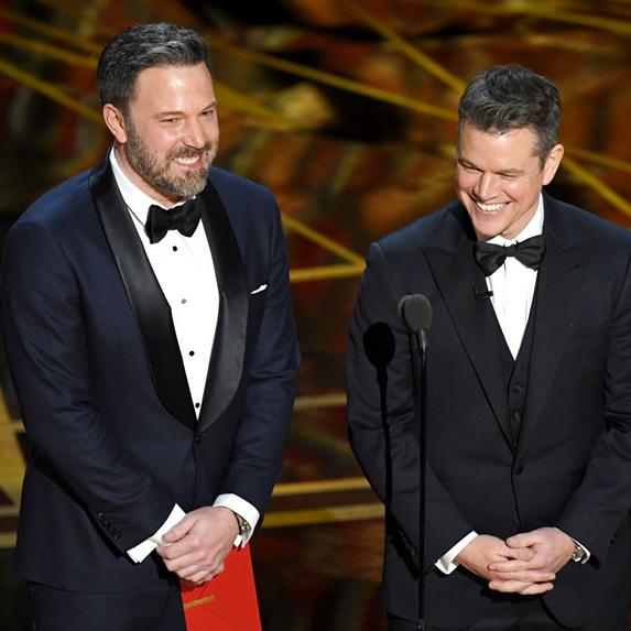 Matt Damon and Ben Affleck
