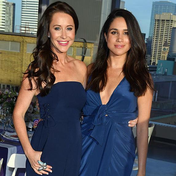 Jessica Mulroney and Meghan Markle