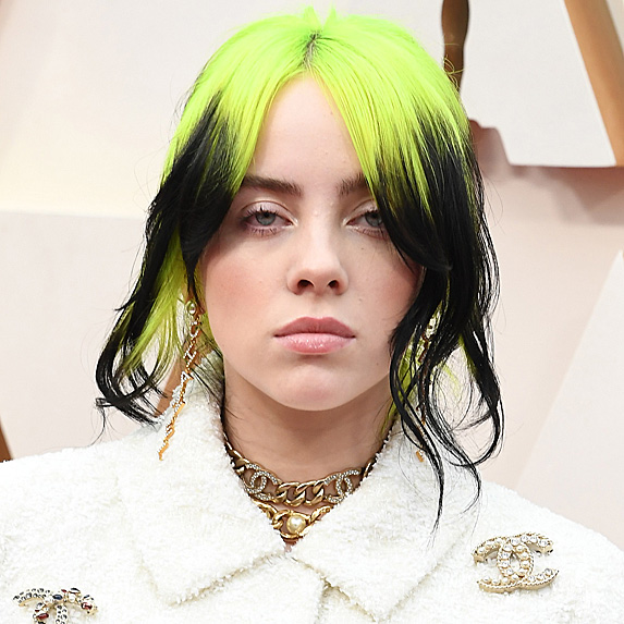 Billie Eilish's hair
