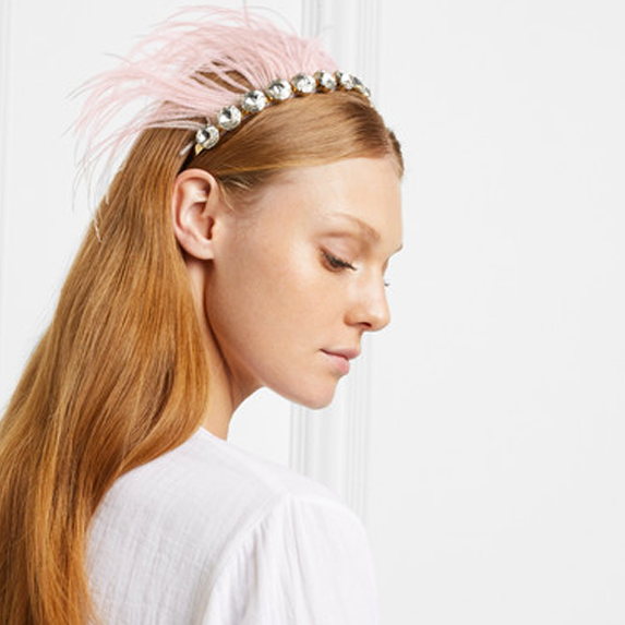Playfully Traditional Hair Piece