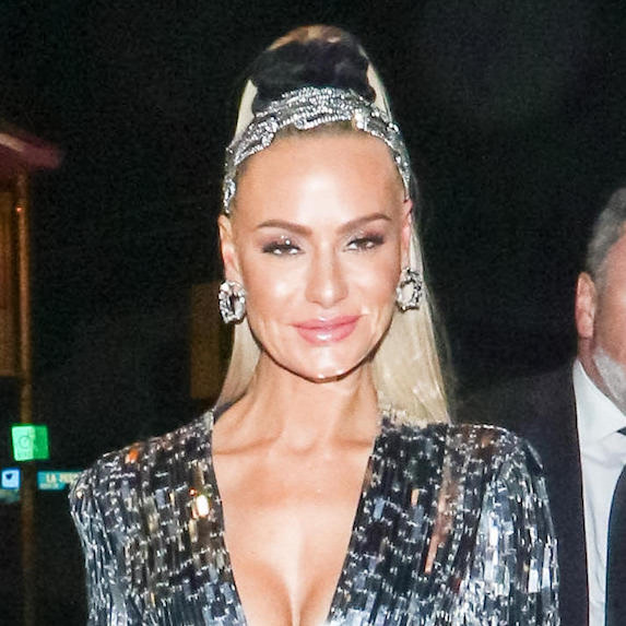 Dorit Kemsley's bedazzled crown