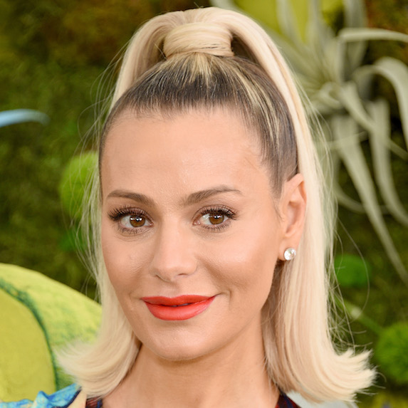 Dorit Kemsley's high pony