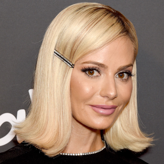 Dorit Kemsley's memorable barrettes