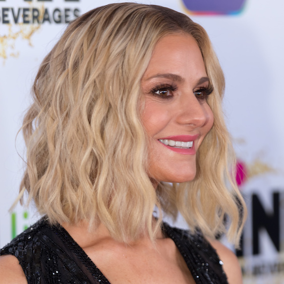 Dorit Kemsley's mermaid curls