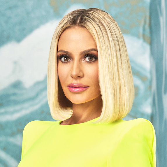 Dorit Kemsley's sleek bob