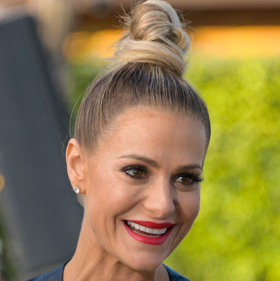 Dorit Kemsley's top knot