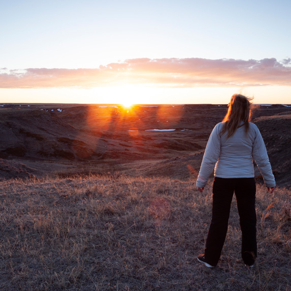 Saskatchewan: Broken Hills Trail, Grasslands National Park