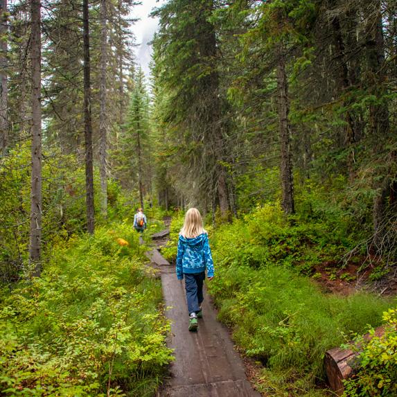 British Columbia: Emerald Lake Trail, Yoho National Park
