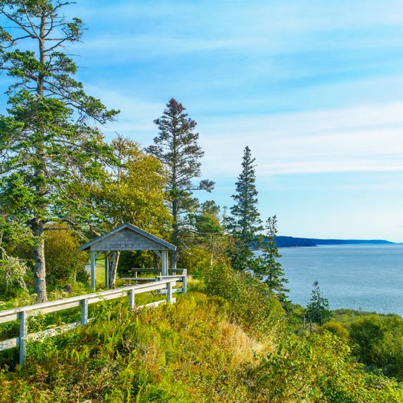 New Brunswick: Fundy Footpath, Fundy National Park