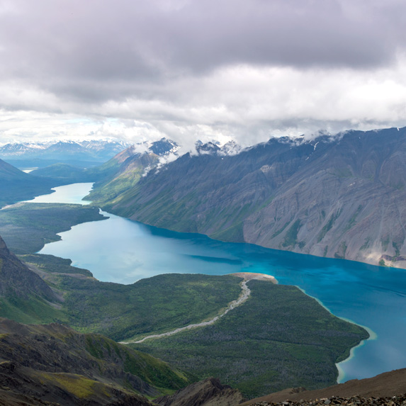 Yukon: King's Throne Peak, Kluane National Park and Reserve