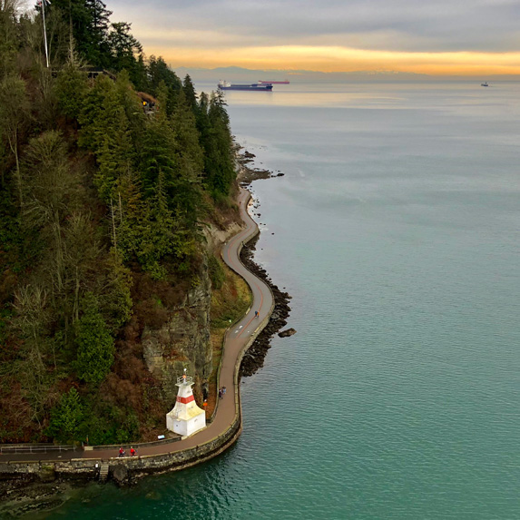 British Columbia: Stanley Park Seawall Trail, Vancouver