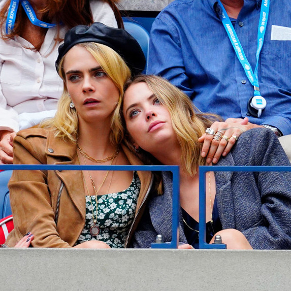 Cara Delevingne and Ashely Benson