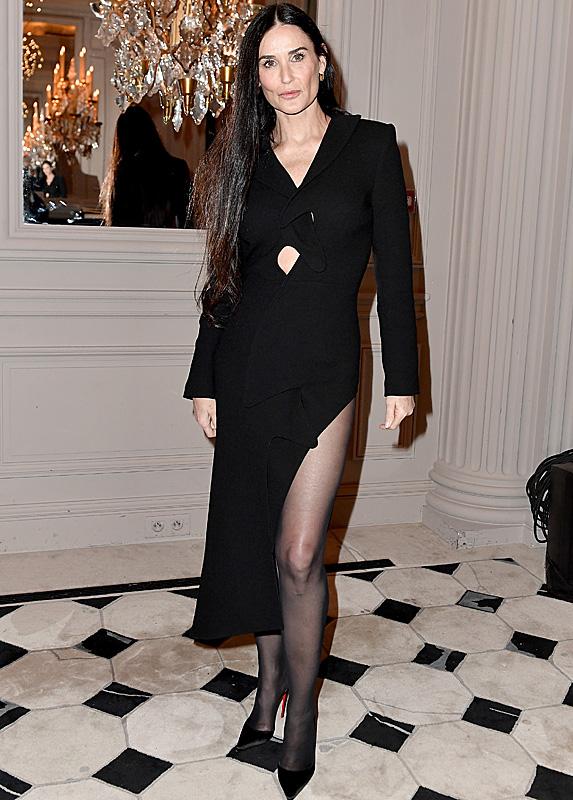 Demi Moore in 2020