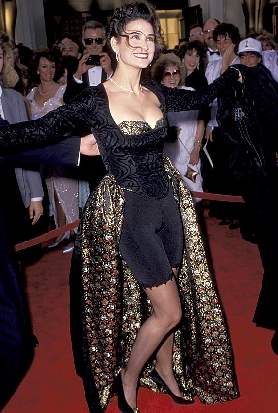 Demi Moore in 1989
