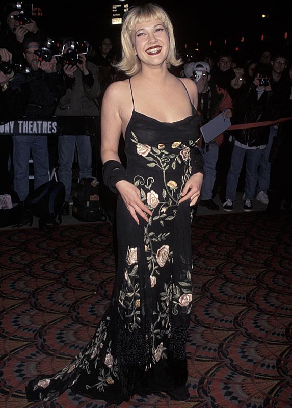 Drew Barrymore in 1998