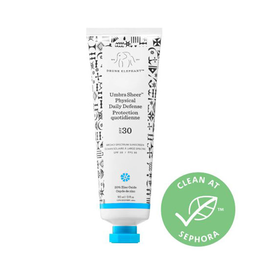 Drunk Elephant Umbra Sheer Physical Daily Defense SPF 30