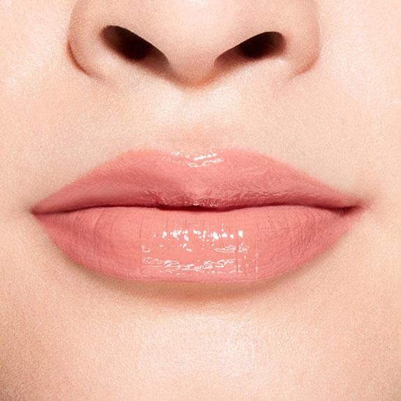 Shiseido Lacquer Ink Lip Shine 311 Vinyl Nude in Peach