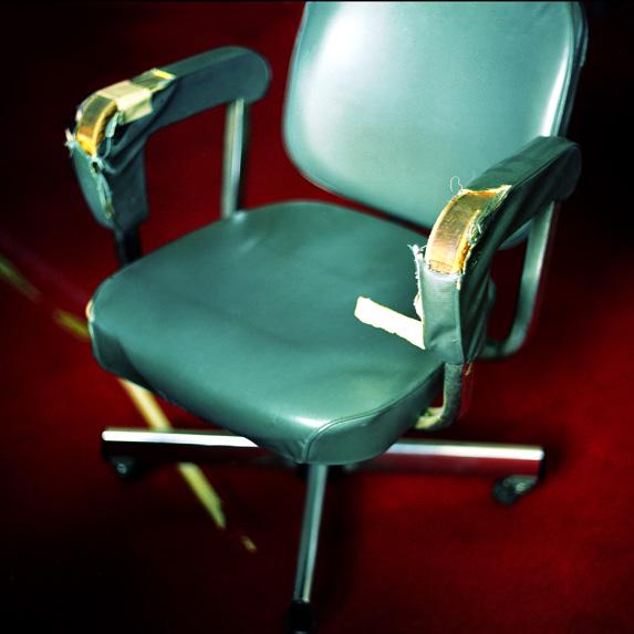 Damaged vintage chair