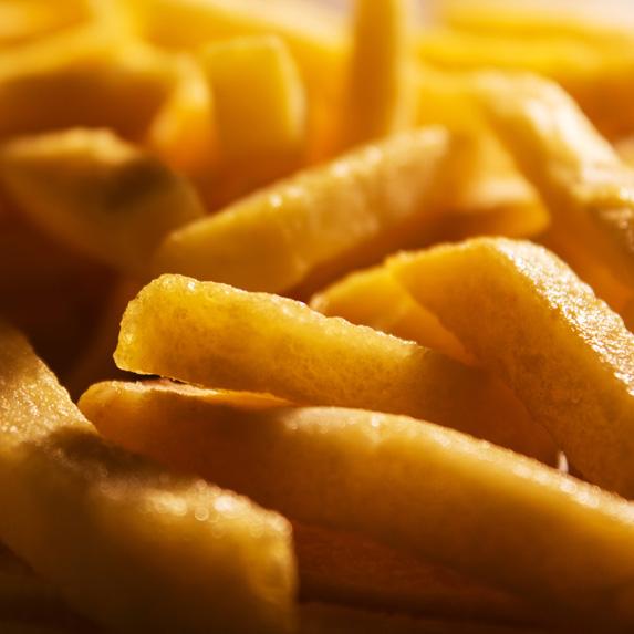 Frozen French fried potatoes