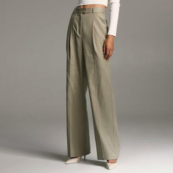 linen wide pant