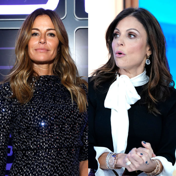 Kelly Bensimon and Bethenny Frankel
