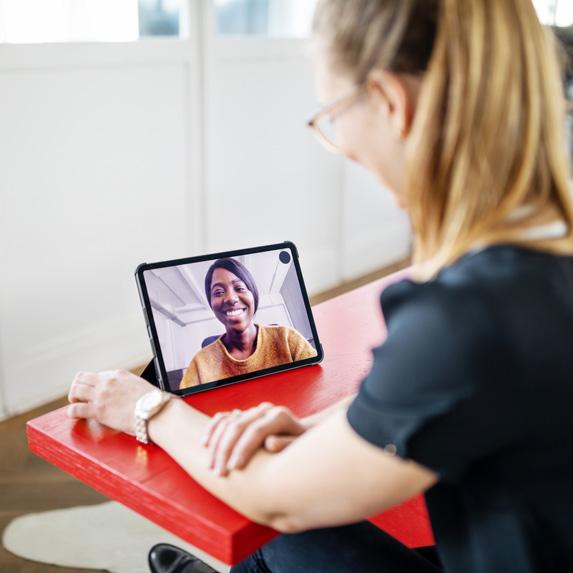 Person teleconferencing