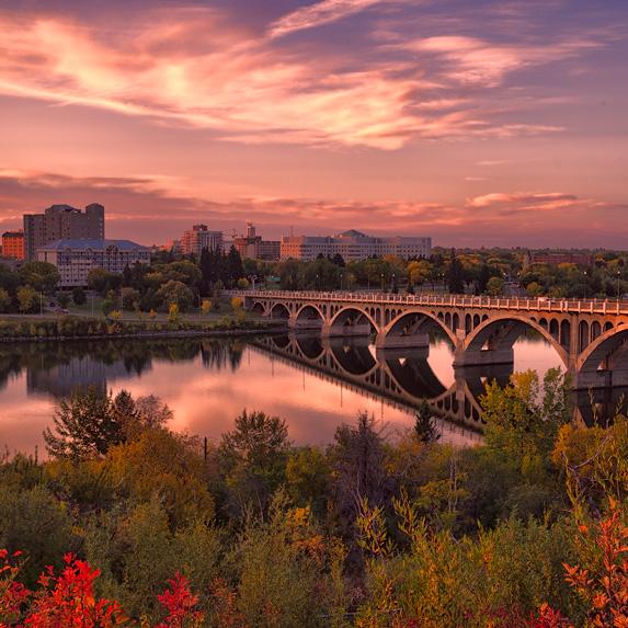 South Saskatchewan River, Saskatoon, Saskatchewan