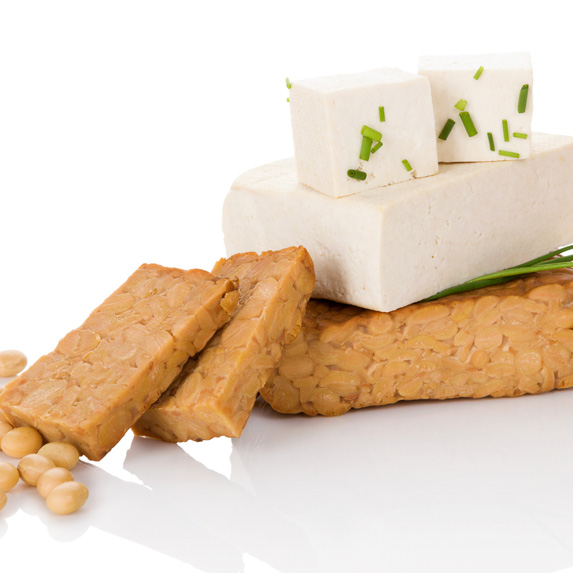 Tofu and tempeh