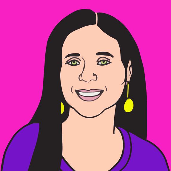 illustration of Christa Bruneau-Guenther