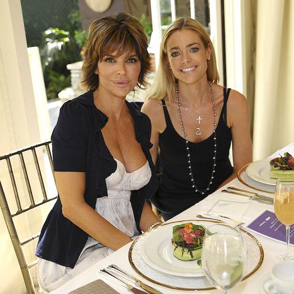 Lisa Rinna and Denise Richards