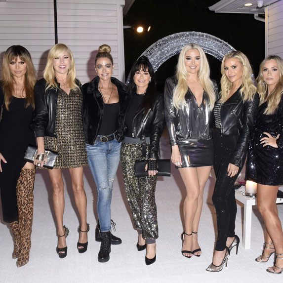 The cast of The Real Housewives of Beverly Hills season 10