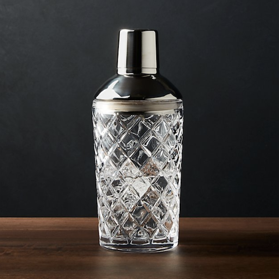 A crafty cocktail shaker