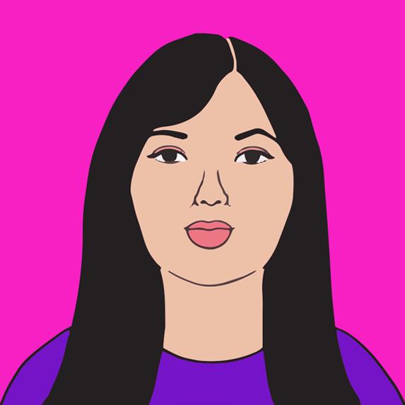 illustration of Lesley Hampton