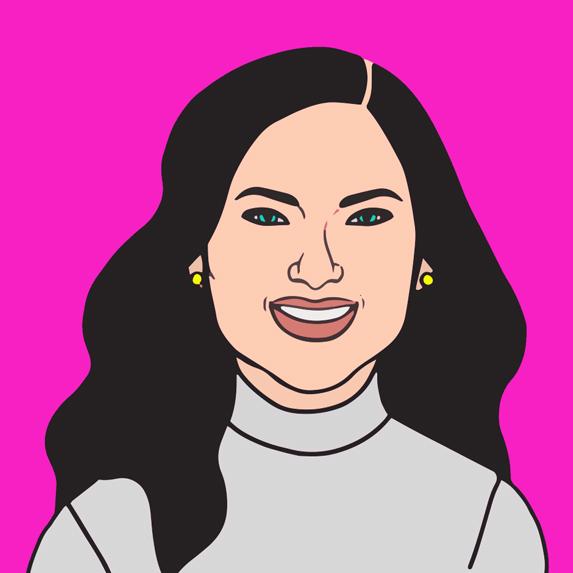 illustration of Nadia George