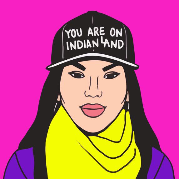 illustration of Nikki Sanchez