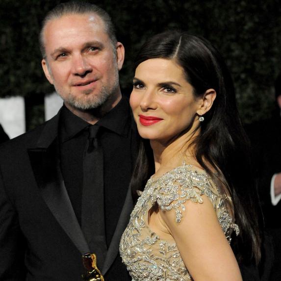 Jesse James, Sandra Bullock at the VANITY FAIR Oscar Party