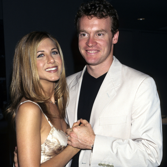 Jennifer Aniston and Tate Donovan at the