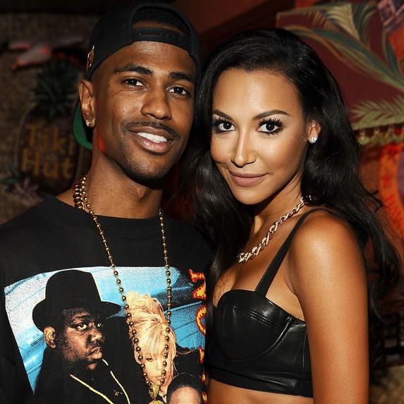 Naya Rivera and Big Sean together at the Teen Choice Awards 2013
