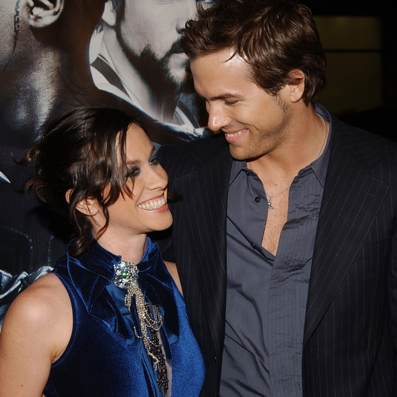 Alanis Morissette and Ryan Reynolds together at the